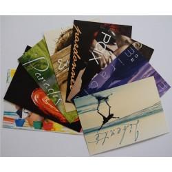 Série de 11 cartes